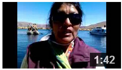 Canadian Salmon introduced in Lake Titicaca, Peru via Chile
