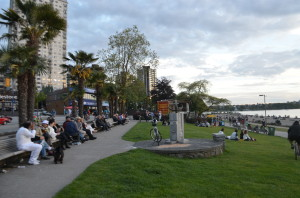 Corniche of English Bay