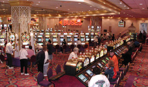 Slot machines in Atlantic City. Slot machines are a standard attraction of casinos