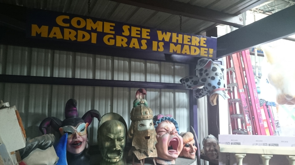 Inside Kern Studios (World of Mardi Gras)